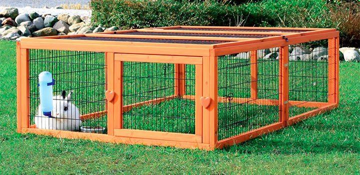 Consejos sobre las jaulas para conejos - Casas para conejos enanos ...
